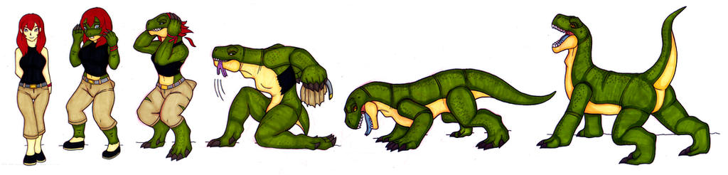 Mary Jane Feral Lizard TF by IvanksMW
