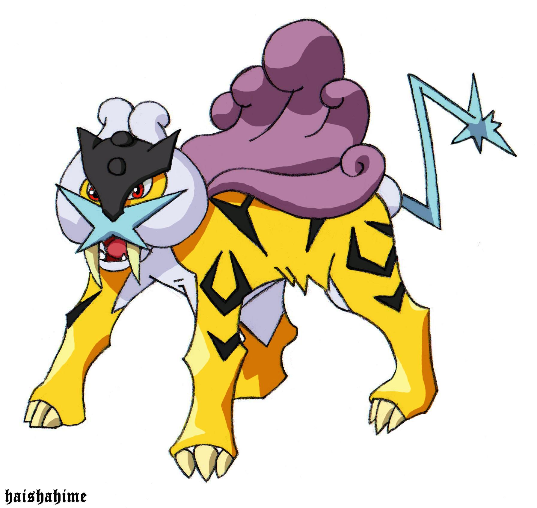 Pokemon Legendary Raikou Www Imgkid Com The Image Kid Has It