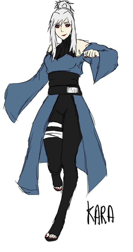 Character Design Oc : Oc naruto consept design character kara by