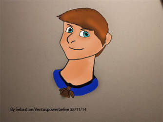 Me As A Cartoon Character by Ventuspowerbelive