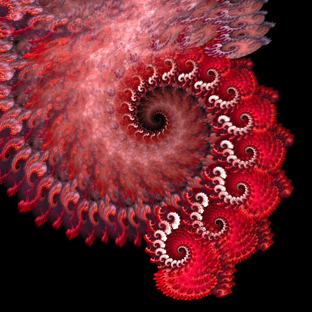 Fractal - red