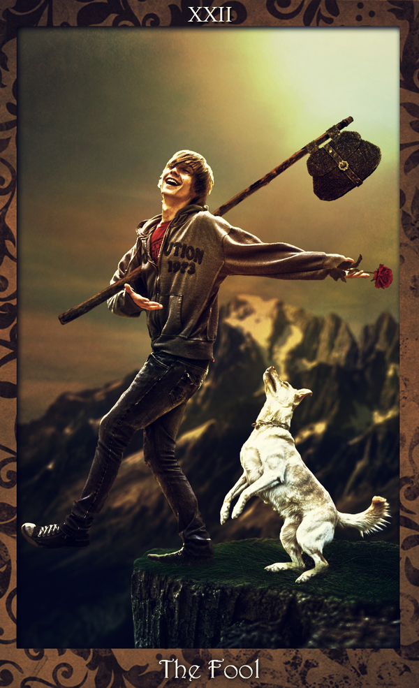 Modern Tarot: The Fool by teMan