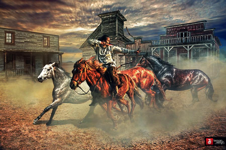 Wild West: The Lone Rider by teMan
