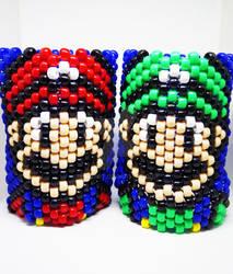 Mario and Luigi Kandi Cuff