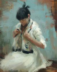 Hsin yao tseng study by kromatik-art