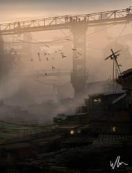 Favela by kromatik-art