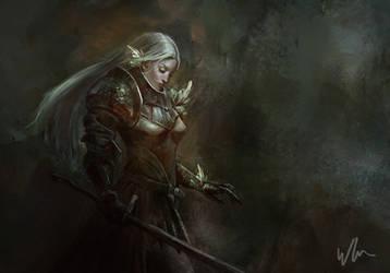 Armor practice by kromatik-art