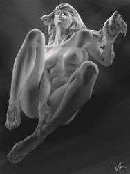 Sculpture Greyscale by kromatik-art