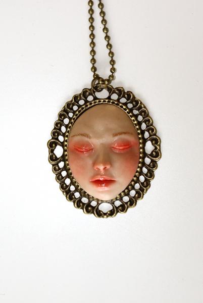 Face Pendant Face pendant by kirstenbakker on deviantart face pendant by kirstenbakker audiocablefo