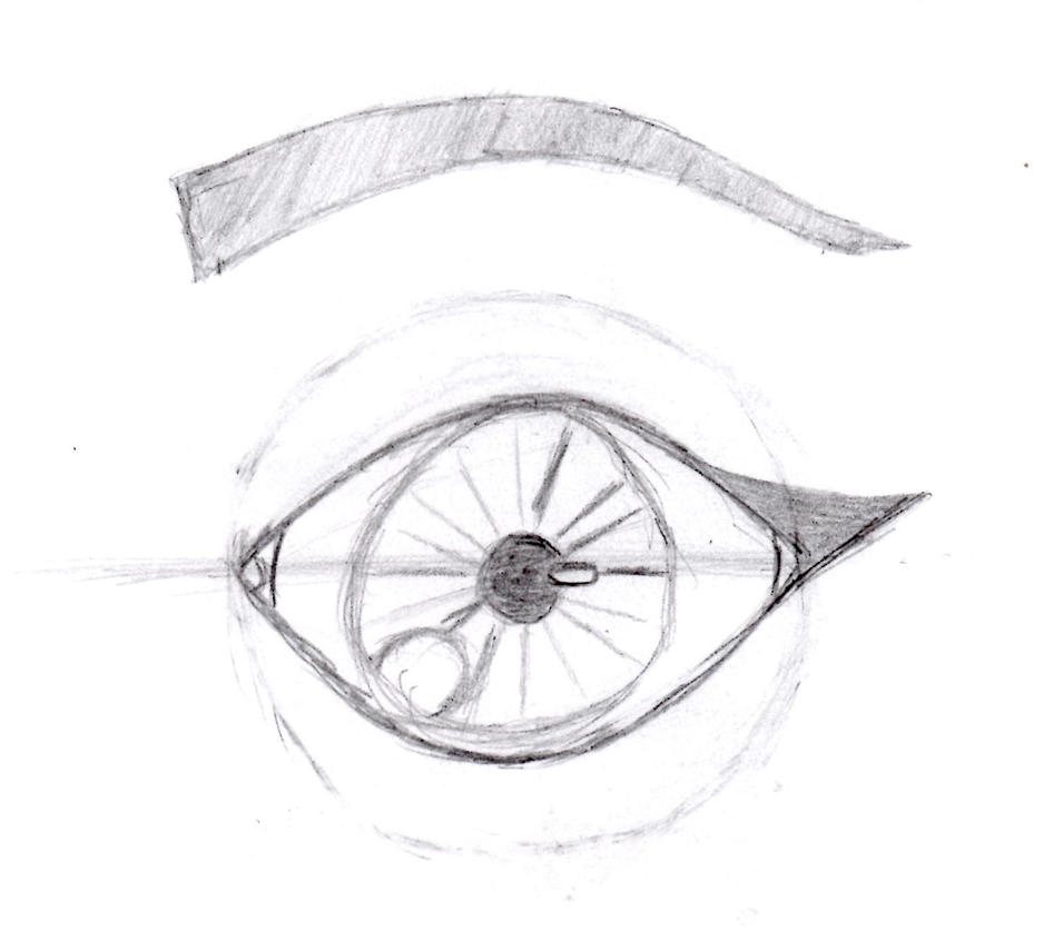 Work Sketch 7 - eye by Locoleader