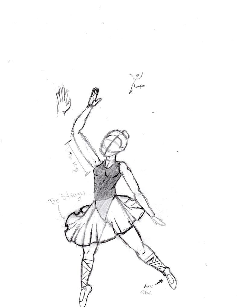 Work Sketch10 - dancer by Locoleader