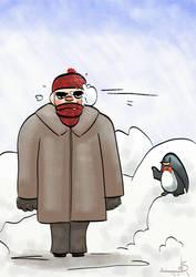 Today's Mood: Cold and Harassed by S-H-A-N-D-O-R