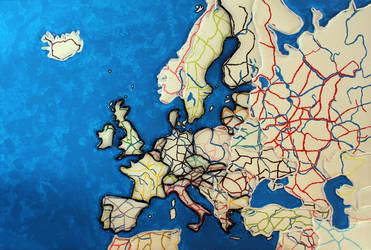 Europe by Giraffe33