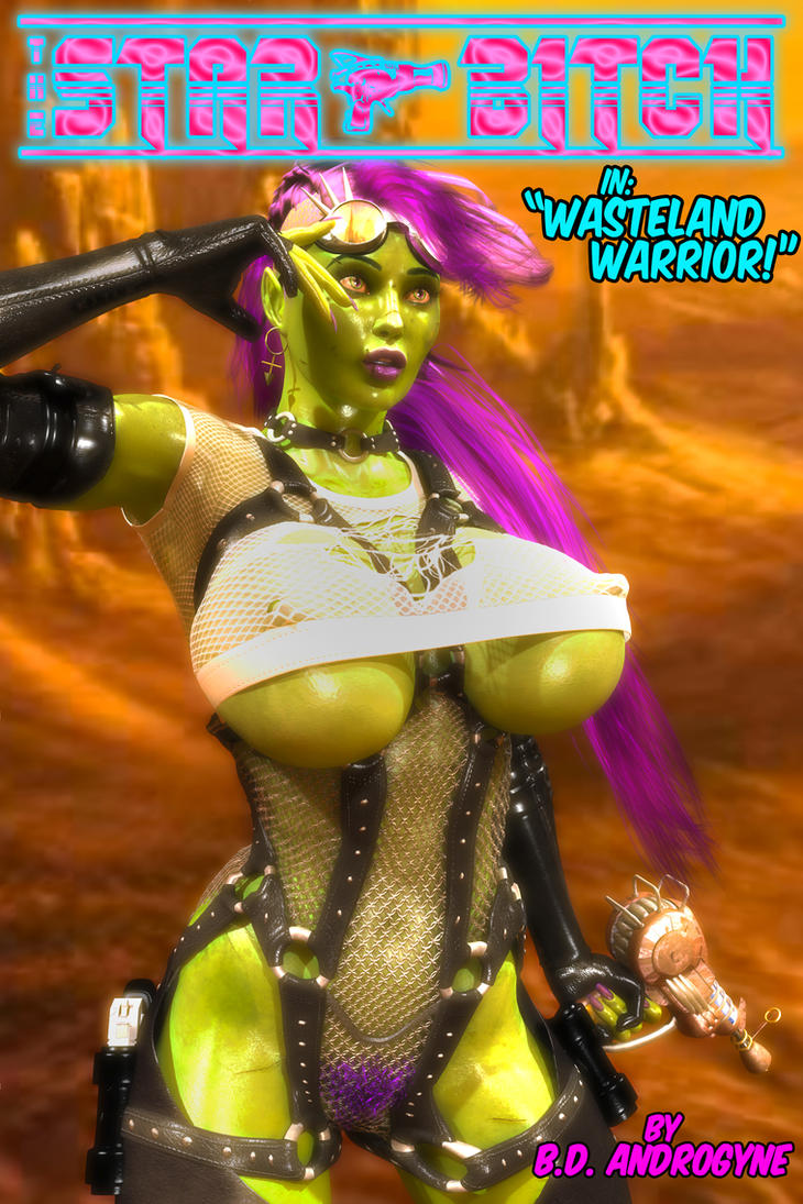 Wasteland Warrior by BDAndrogyne