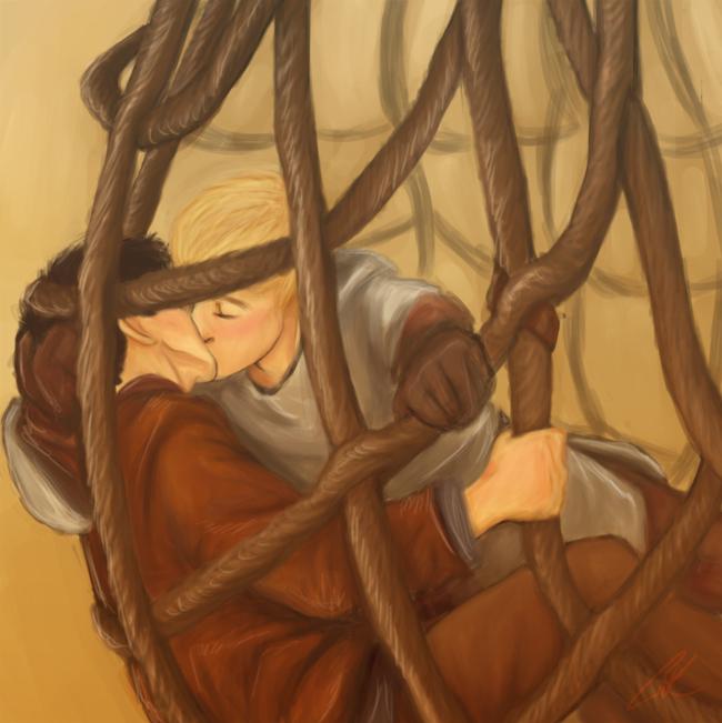 Merthur - where did the rabbit go? by kneelmortals