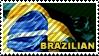 Brazilian Stamp by helder