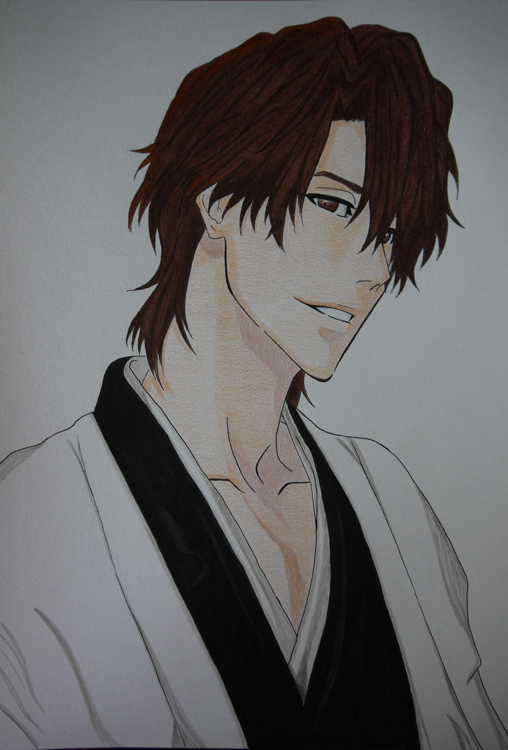 My perfect Aizen Taicho :P by LaBelleEsmeralda