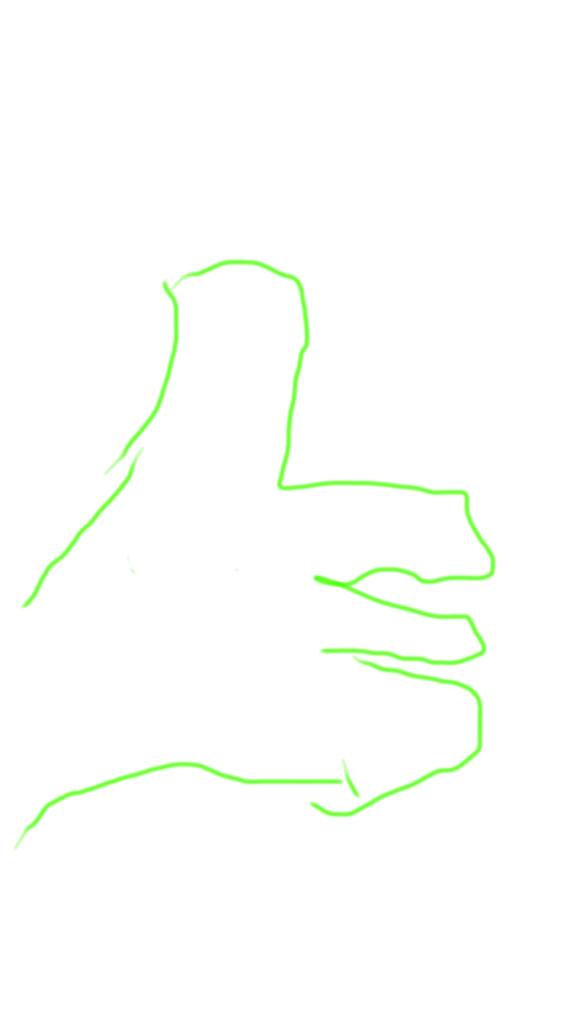 Jason's sketched hand by JasonCDelaRosa2019
