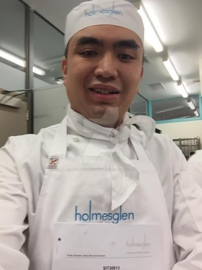 My Holmesglen Patisserie Course Selfie
