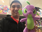 My (Cathy Wesluck) spike the dragon selfie. by JasonCDelaRosa2019