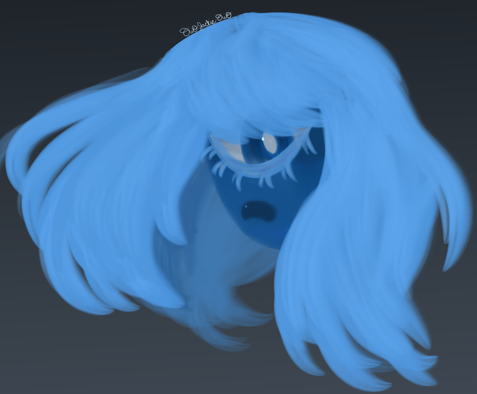 Steven Universe - Sapphire by owo-Jackie-owo