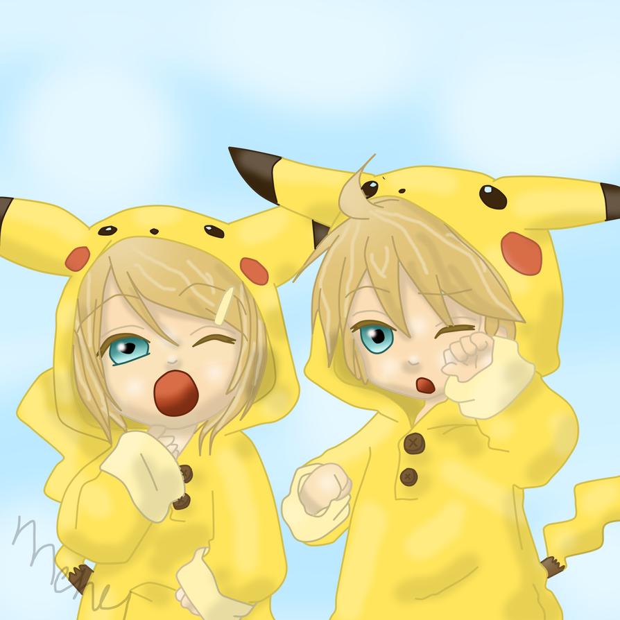 cute pikachu couple pokemon - photo #32