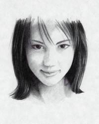 bicportrait 03 - bic ballpoint pen by wysus