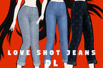 [MMDxDL] Sims 4 Love Shot Jeans