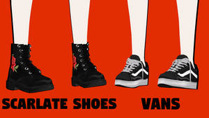 [MMDxDL] Sims 4 Shoes