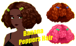 [MMDxDL] Sims 4 Banana Peppers Hair