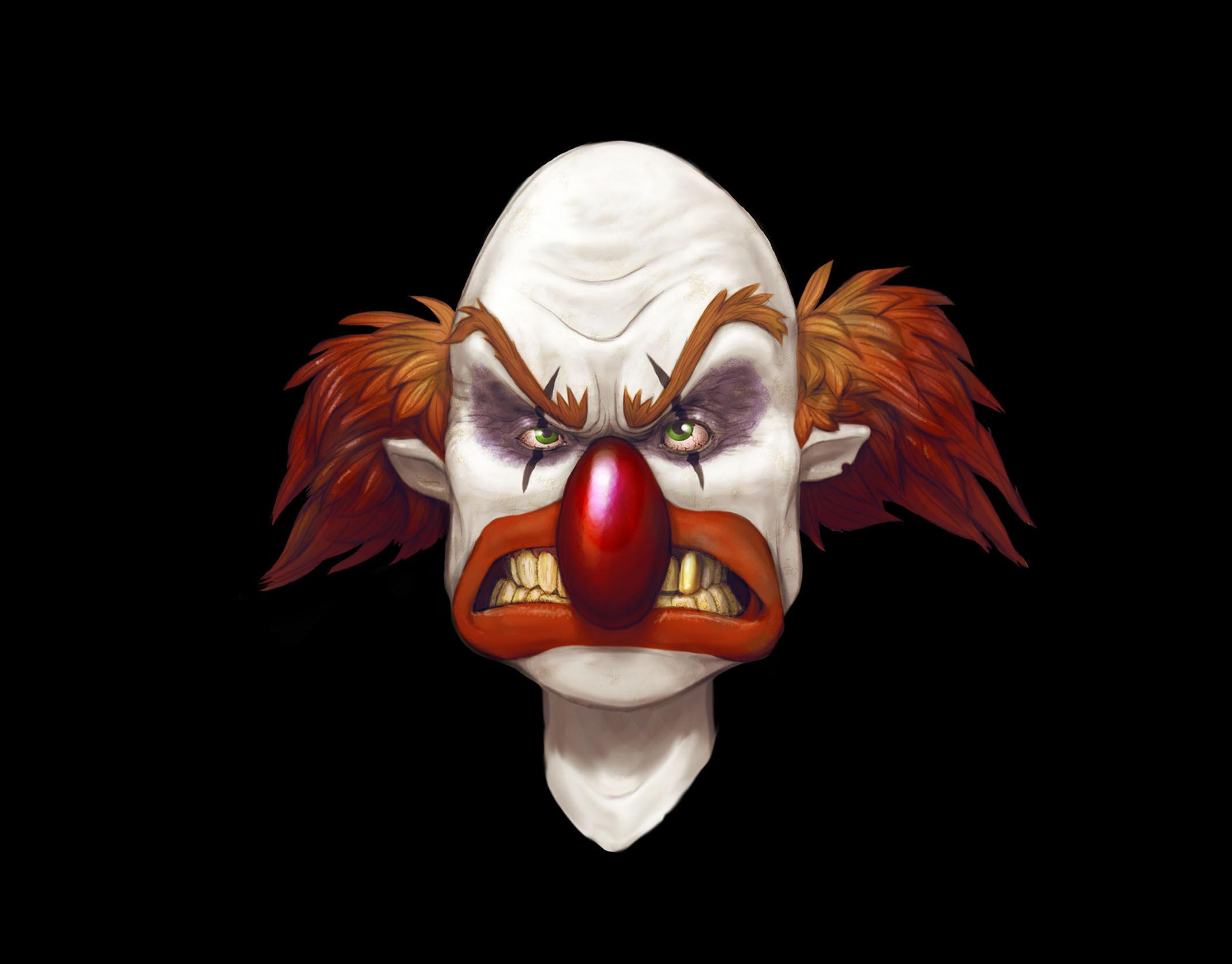 evil clown no 1 by dagamon on DeviantArt