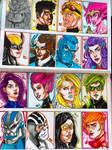 X-men heads 2 by ga4000