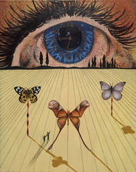 The Eye of Surrealist Time by stormtorm