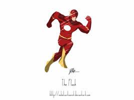 The Flash by NobelCartoonist