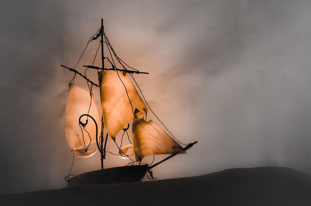 The Flying Dutchman by La-Tete-Ailleurs