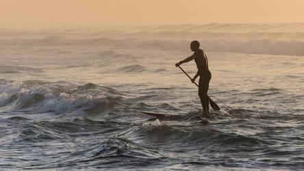 Marcher sur l'eau by La-Tete-Ailleurs