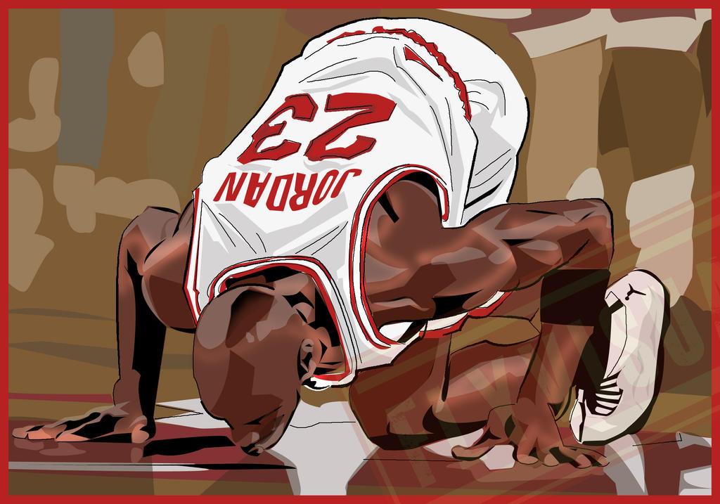 Michael Jordan Cartoon Wallpaper: Michael Jordan By Sensei324 On DeviantArt