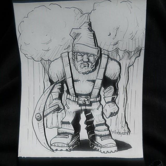 Lumberjack by sensei324