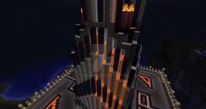 Castle KP Lava Falls 2 (MINECRAFT FORTRESS)