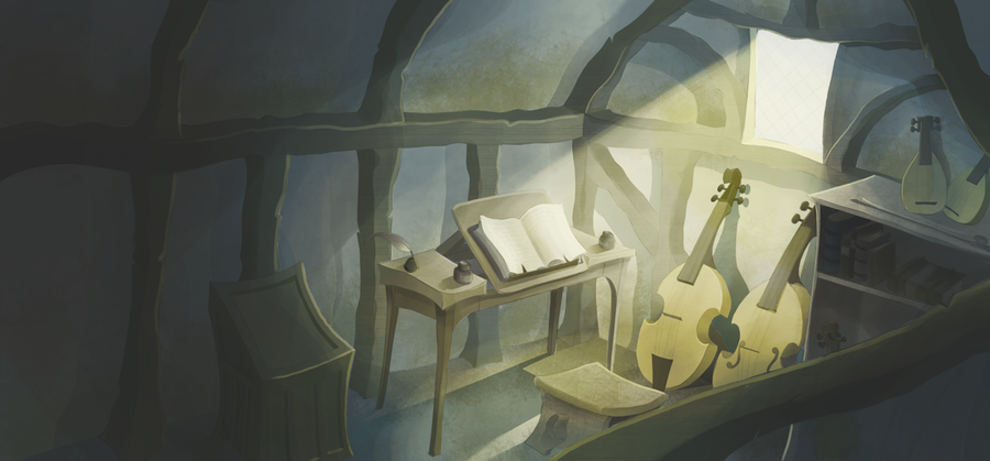 Artist Studio - Layout by S-tygian