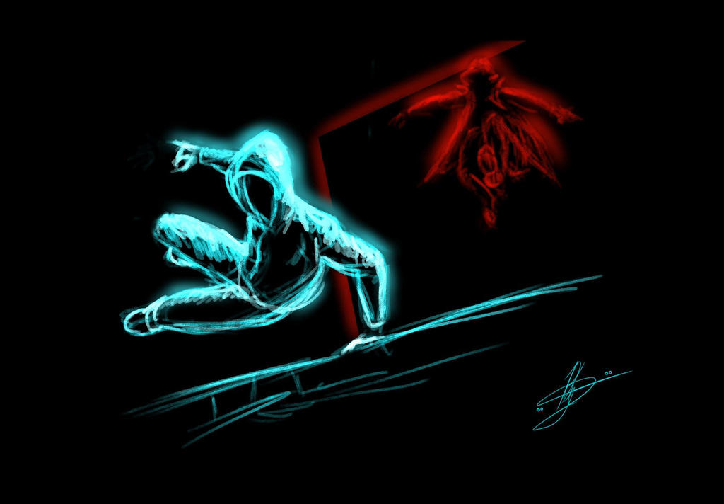 Devil part1 by KevinG-art
