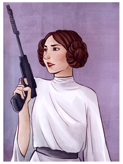 Princess Leia by Princess-Hazel