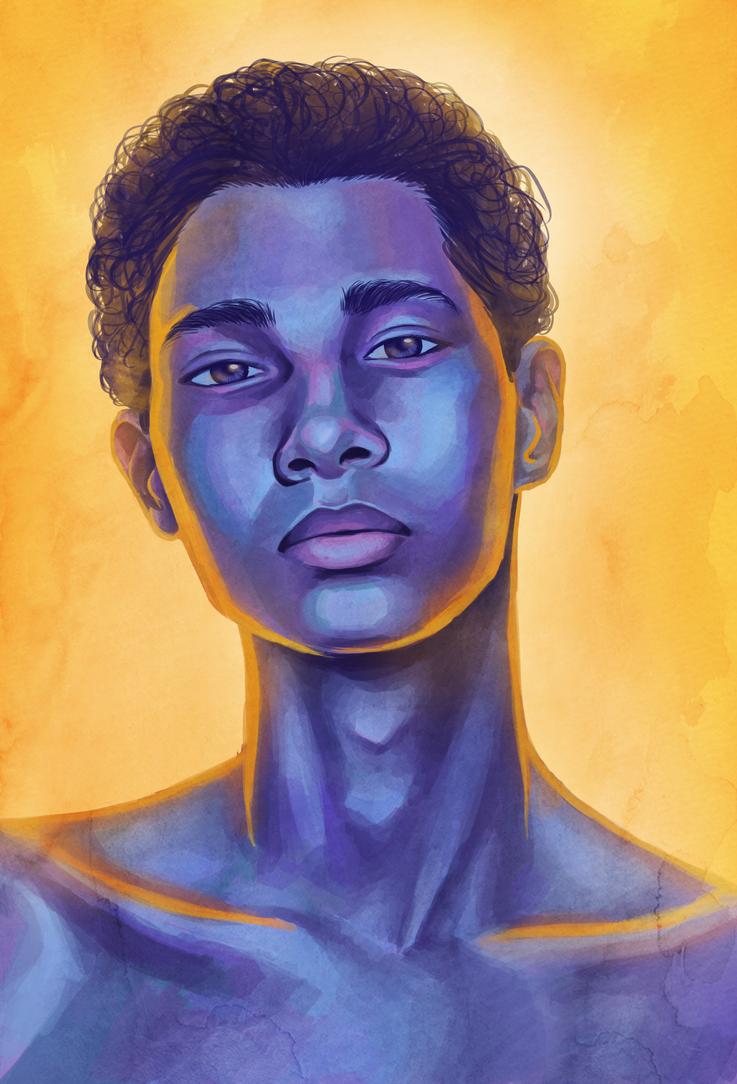 Portrait Study by Princess-Hazel