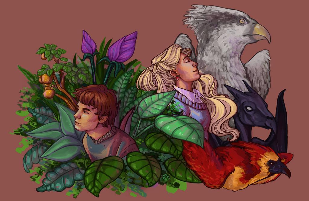 Harry Potter Week - Flora and Fauna by Princess-Hazel