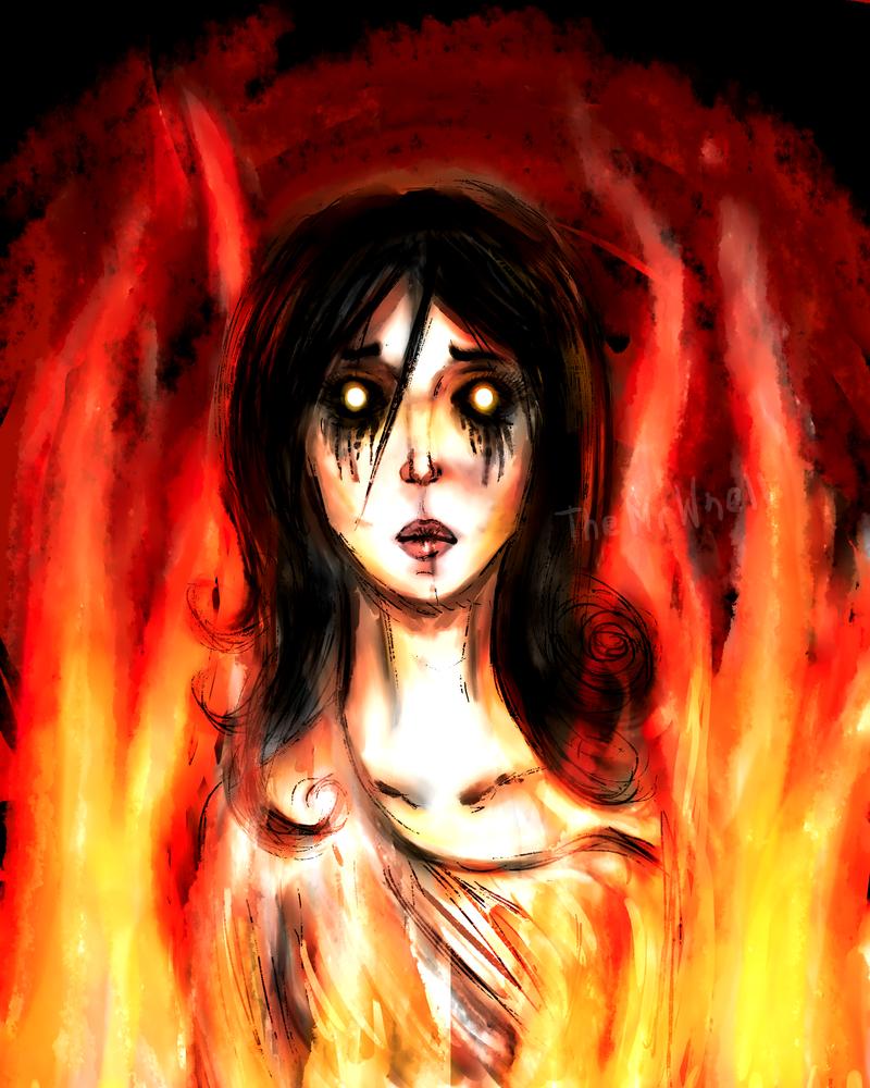 Burning. by TheMrWsell