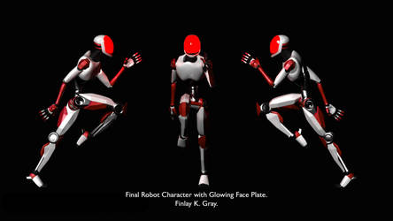 Low-Poly model rig by Fin-Fin-Fin-Fin