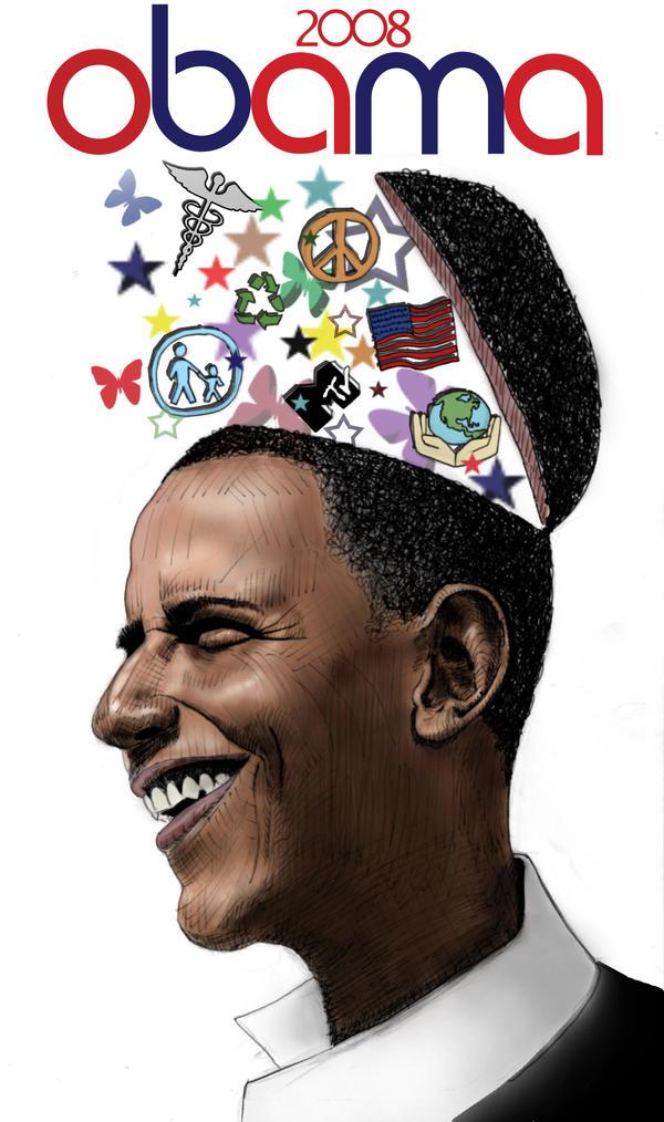 Barack Obama poster 2008 by qwnzxmsj