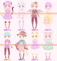 [6/8 OPEN] Halloween Adopts by ku-rou