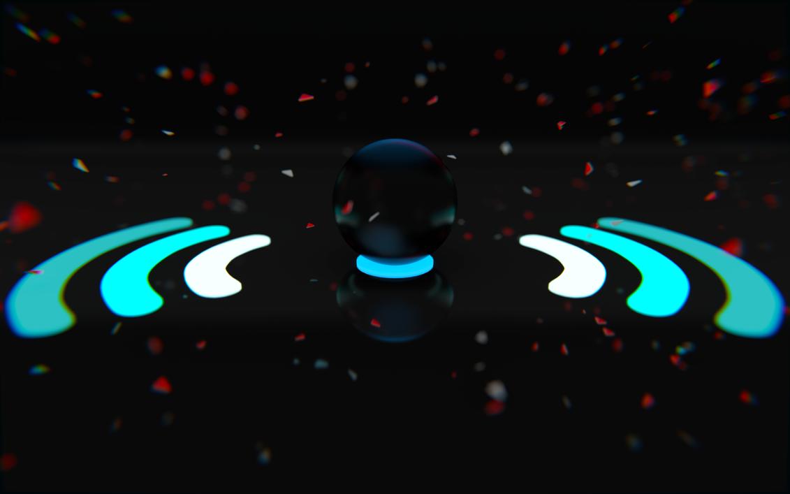 Glow Sphere by ninjatogo