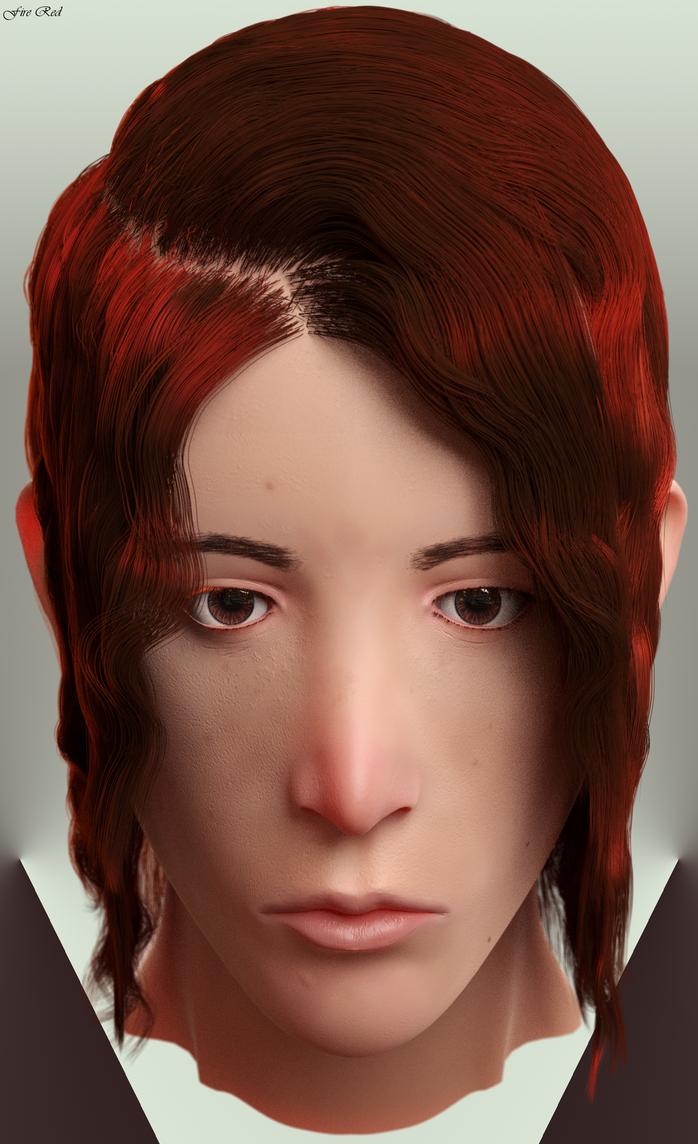 Fire Red by ninjatogo